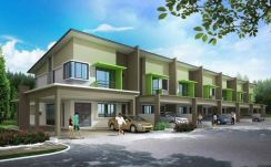 4 units double storey corner 13.67 land size at matang