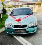 Volvo s80 wedding car for rent