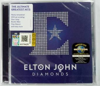 IMPORTED CD ELTON JOHN Greatest Hits Diamonds 2CD