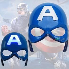 Superheroes Cosplay Anime Mask LED Light captain