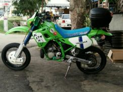 Motocross scrembler mortad
