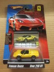 Hotwheels Ferrari Racer Dino 246 GT
