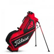 Titleist Players 4 Stand Bag - Red/Black/White