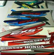 Stiker honda ex5 high power