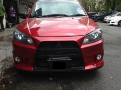 Saga fl flx se sv evo 10 bumper bodykit with paint