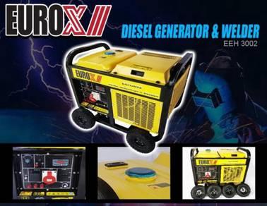 EUROX EEH3002 Diesel Generator & Welder 10000W
