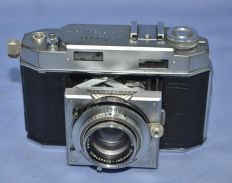 ANSCO KAROMAT GERMANY FILM CAMERA CIRCA 1950s