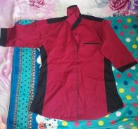 Baju formal Red colour