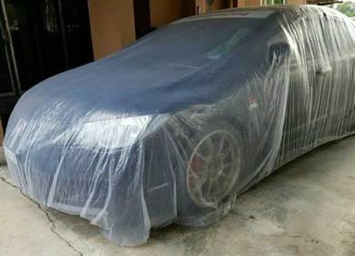 Transparent car cover