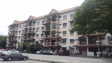 Andorra Seksyen 25 block 4, tingkat 4 fully renovated