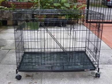 New 1 level cat cage