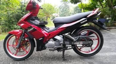 2008 Yamaha LC135 V1 kondisi terbaik