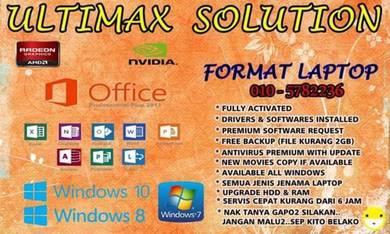 Freelance Format Laptop Pc