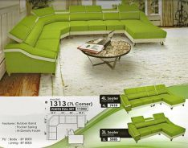 Modern corner sofa-81313