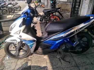 Yamaha nouvo lc135 scooter (harga lelong)