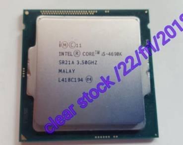 Intel core i5-4690k-3.5Ghz Quad core 1150