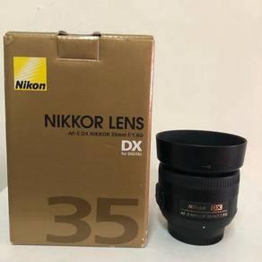 Nikon AFS 35mm f1.8G