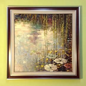 Original handmade oil painting code A19