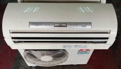 Mitsubishi used aircond 1HP