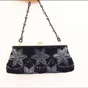 Hand Sewn Vintage Evening Clutch/ Bag