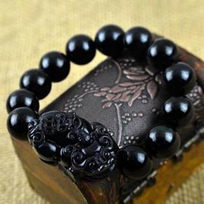 Obsidian Pixiu Bracelet Borong Lelaki Wanita