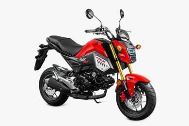 Promosi New Design Honda Msx 125cc Tahun 2018