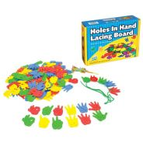 Holes In Hand Lacing Board (Fun)