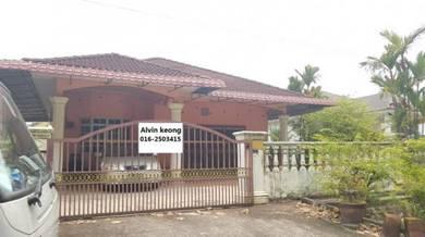 Seremban ampangan taman pancor jaya single storey bungalow value buy!!