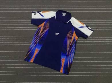 Butterfly jersey biru size l
