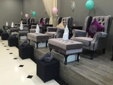 Spa with beautiful interior design (2 Floors)