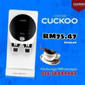 Produk Laris Penapis Air Cuckoo RT ZKVC