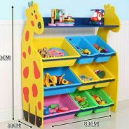 Giraffe Rack Box 6+3 -rs03