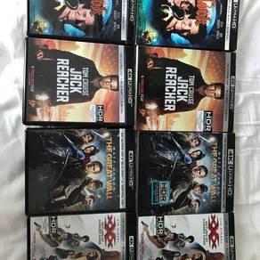 4K Assorted Bluray Movies
