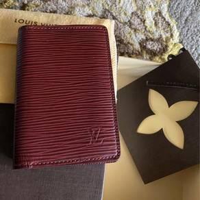 Lv epi leather pocket organizer wallet