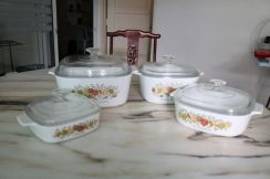 Rare Exquisite Corningware