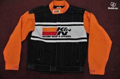 K & n racing jaket saiz l