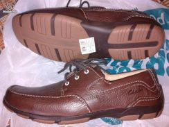 Clarks Casual leather shoes size UK 7.5