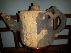 Chinese Puer Tea Pot Tree Trunk