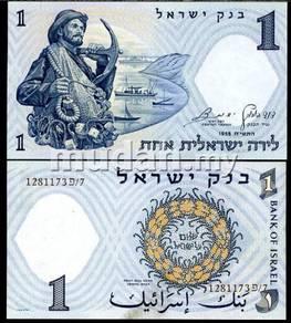 Israel 1 lira 1958 p 30 unc