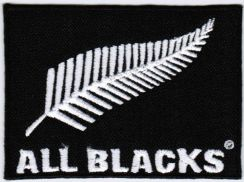 New Zealand National Rugby Union All Blacks Patch