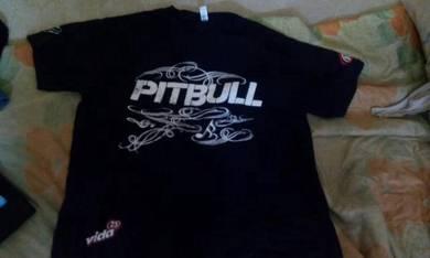Baju pitbull x dr pepper limited edition(signature