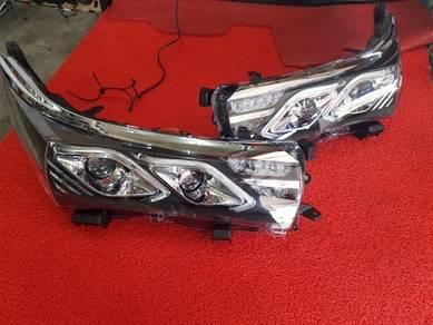 Toyota altis light bar led projector head lamp uh