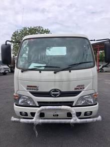 2018 HINO 1 TON NEW Lorry XZU600J/XZU600K - 4800KG