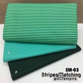 Kain Cotton Stripes Matching SM-03