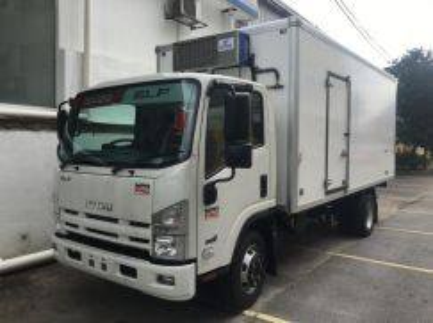 2017 isuzu lorry baru freezer chiller