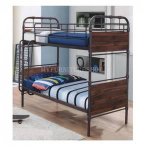 Verona Metal/Wood Bunk Bed