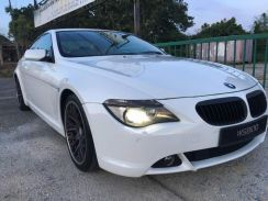 BMW 645Ci for rent