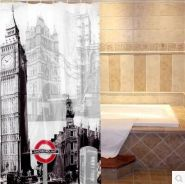 IDSC020 London View Shower Curtain