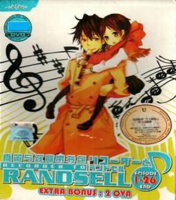 DVD ANIME Recorder To Randsell Ep 1-26 End + 2 OVA