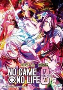 DVD ANIME No Game No Life Zero Movie